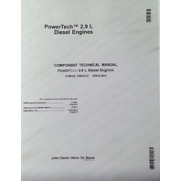 John Deere 2.9L Diesel POWERTECH ENGINE SERVICE MANUAL CTM125