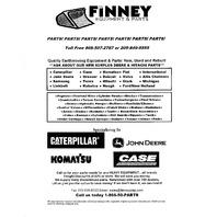 Fiat Allis FL7B parts book catalog for crawler loader