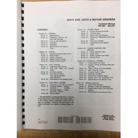 John Deere JD  570 570A Motor Grader service repair tech shop manual TM1001