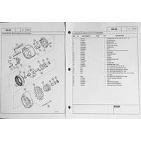 Case 650K SERIES 2 II Crawler Dozer Parts manual Catalog book