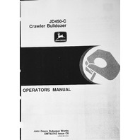John Deere JD 450C Crawler Bulldozer Operator Operation Manual OMT62742 C8