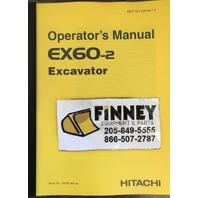 Hitachi EX60-2 Excavator Operation Operator Maintenance Manual EM10K-1-2