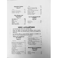 CATERPILLAR CAT D3 PARTS MANUAL BOOK S/N 6N 1-885 UEG0725S