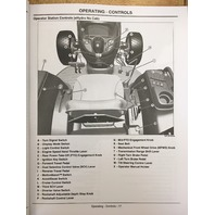 John Deere JD 3120 3320 3520 3720 Compact Utility Tractor Operators Maintenance Manual OMLVU19809