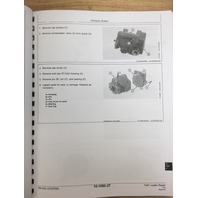 JOHN DEERE 744E WHEEL LOADER REPAIR MANUAL SERVICE TM1455