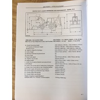 NEW HOLLAND LB75B LB90 LB110 LB115B OPERATORS MANUAL OPERATION MAINTENANCE