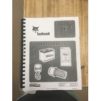 Bobcat 943 Skid Steer Loader Parts Manual Pub# 6570035