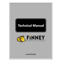 John Deere 450H 550H 650H Dozer Repair Technical Manual JD TM1744 Book