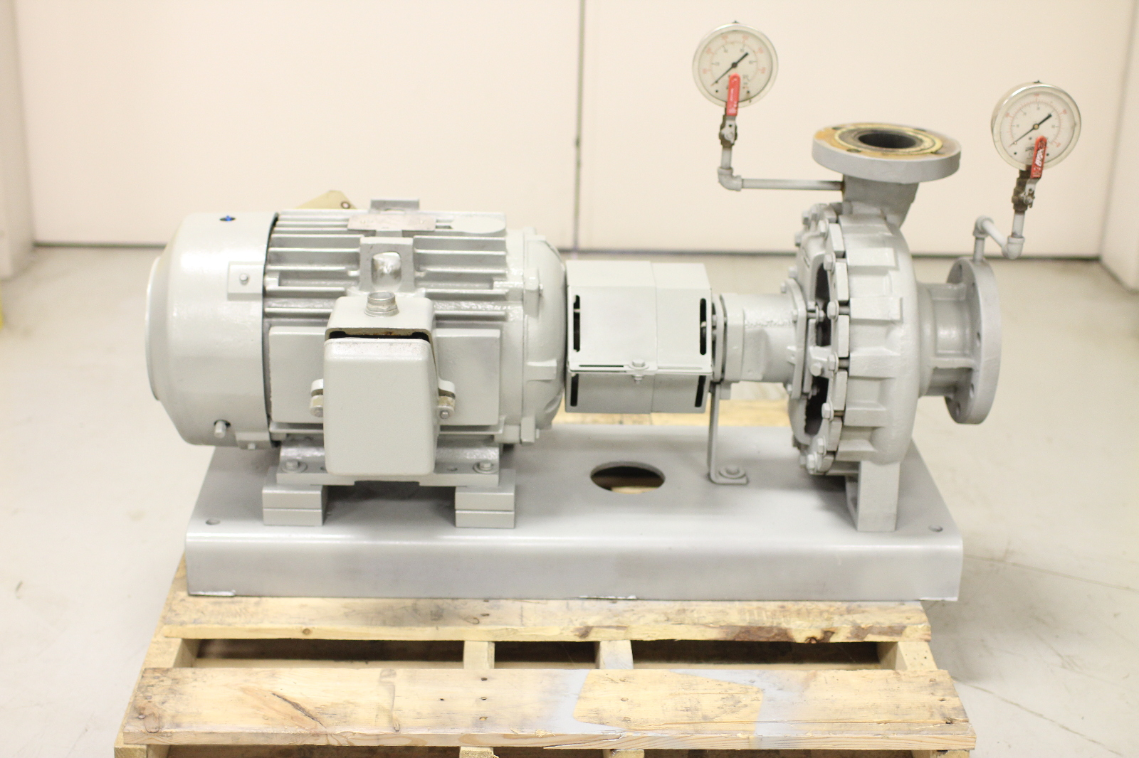 Used armstrong 4x3x11 5 4030 centrifugal pump 15 hp 368 for Ge motors and industrial systems