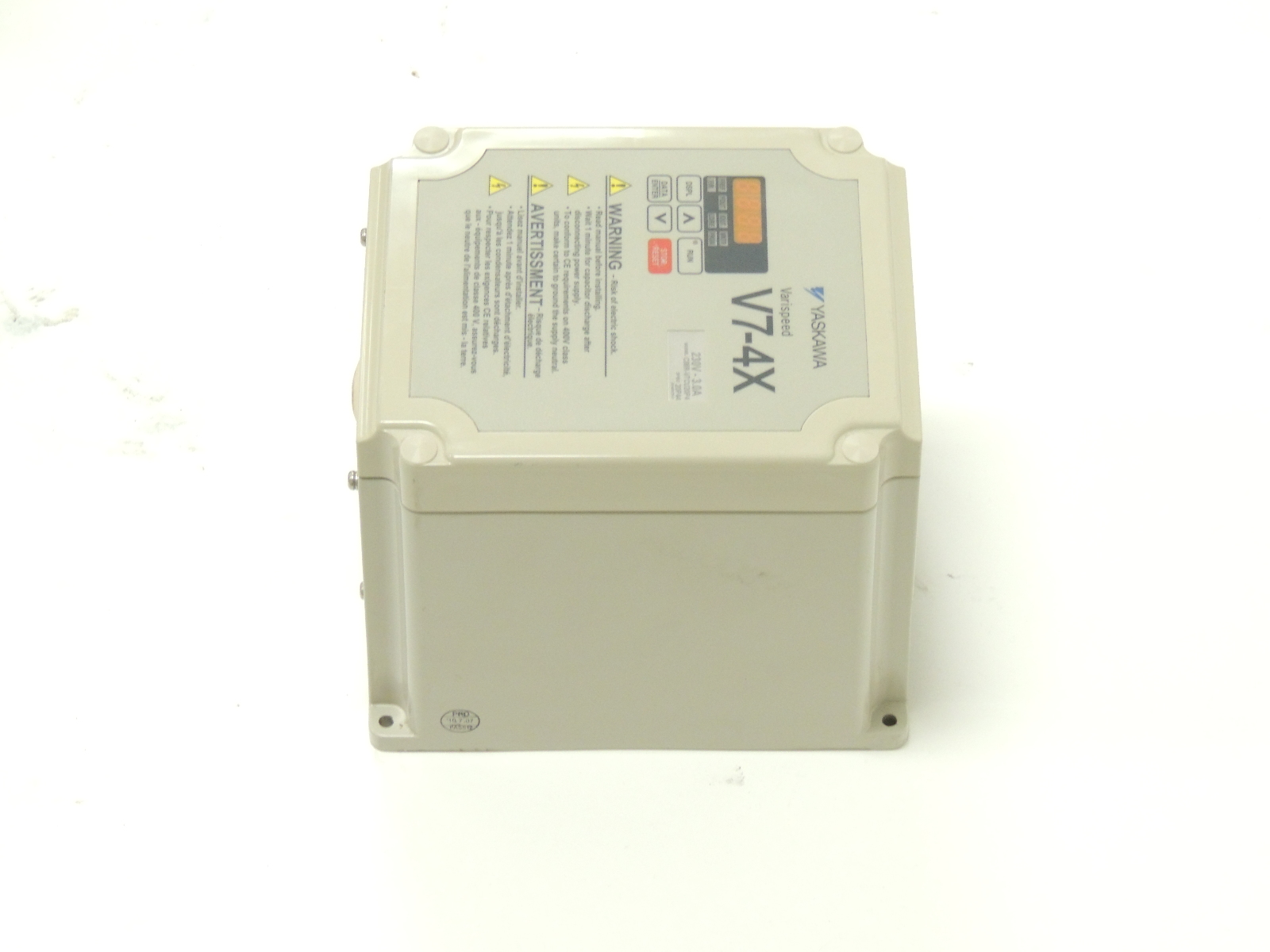 Yaskawa Drives E7 Ac Drive Cimr E7u45p5 No Controller Vfd Wiring Diagrams Download