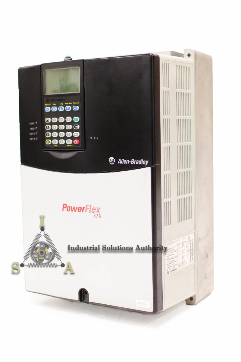 Allen-Bradley PowerFlex 70 VFD 20AD040A3AYNANC0  30 HP, 480 VAC, 3 PH