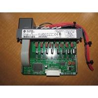 Used Allen-Bradley SLC500 Output Module 1746-0A8 1746-OA8Ser B 85-265VAC 50/60HZ