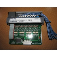 Used Allen-Bradley SLC500 Input Module 1746-IB16 SER C  10-30VDC