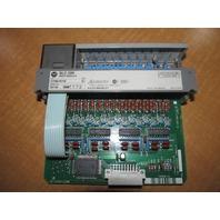 Used Allen Bradley SLC500 Input Module  1746-IV16 SER C  10-30VDC
