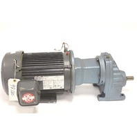 Used Sew-Eurodrive RX67AM182 & US Motors S650 Gear Motor 3 HP 1.61:1 Ratio