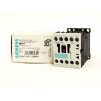 New Siemens Auxiliary Contactor 3RH1140-1BB40  24 V, AC-15:  6 A, 230 V