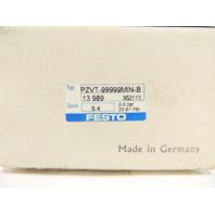 New Festo Pneumatic Device Timer PZVT-99999MIN-B