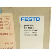 New Festo Control Valve JMDH-5/2-D-1-M12-C