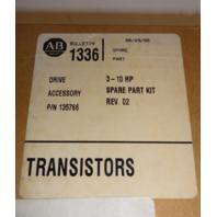 New Allen Bradley Transistor Spare Part Kit 135766 3-10HP