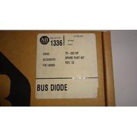 New Allen Bradley Bus Diode Spare Part Kit REV 02 140580 75-200HP