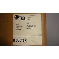 New Allen Bradley Inductor Spare Parts Kit REV. 04 140144 40-50HP