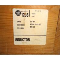 New Allen Bradley Inductor Spare Part Kit REV. 05 140568 200HP