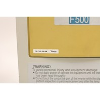 Used Mitsubishi F500 Series Inverter VFD  FR-F540-30K-NA  40 HP, 30 kW, 480 V