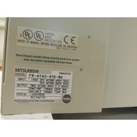 Used Mitsubishi VFD FR-A540-45K-NA  75 HP, 480 Volts, 3 Ph, 6 Month Warranty