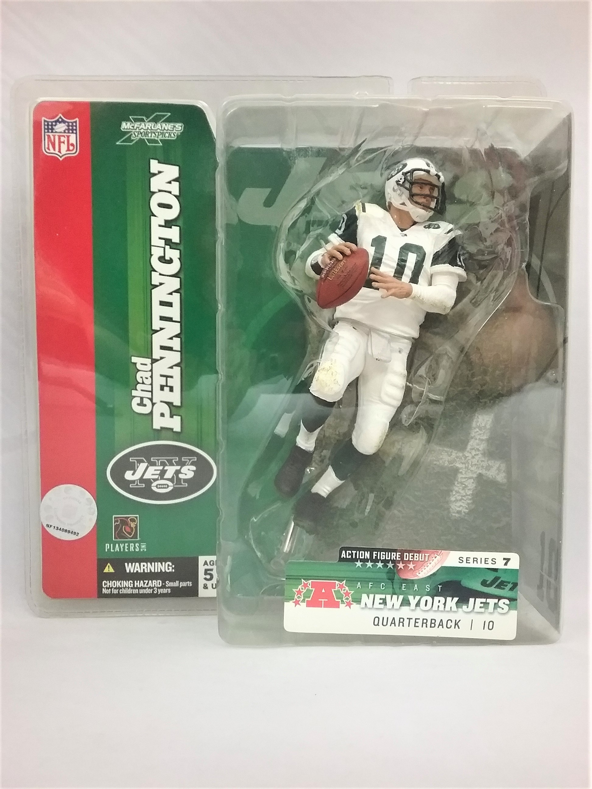 Chad Pennington New York Jets McFarlane's Toys Series 7