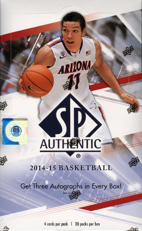 official photos 675a6 849d2 2014/15 Upper Deck SP Authentic Basketball Hobby Box (Sealed)
