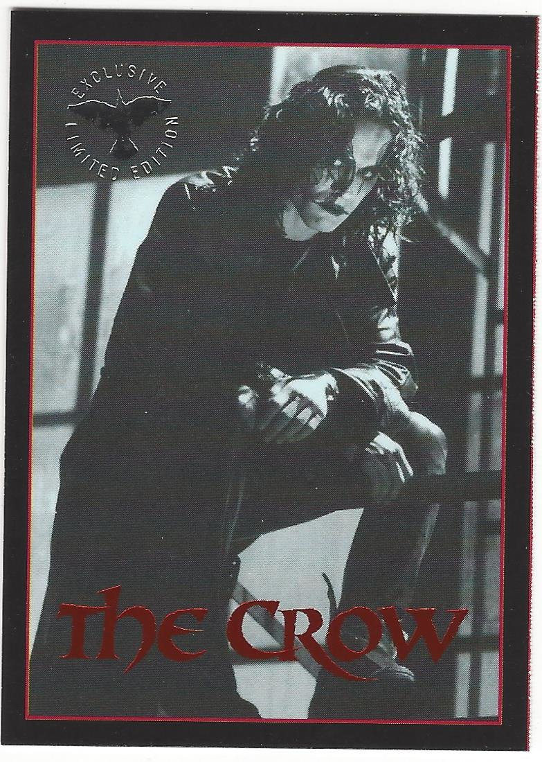 The Crow 1995 Exclusive Premium Trading Card 1/1 from Kitchen Sink ...