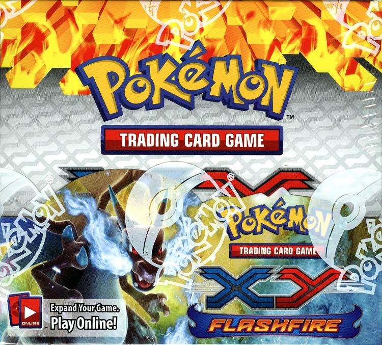 Pokemon TCG XY Flashfire Booster Box (Sealed)