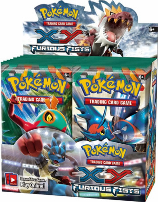 Pokemon TCG XY Furious Fists Booster Box (English)(Sealed) 2014
