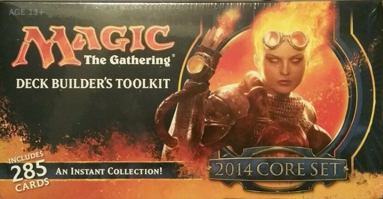 Magic the Gathering (MTG) 2014 Core Set Deck Builder's Toolkit (Sealed)