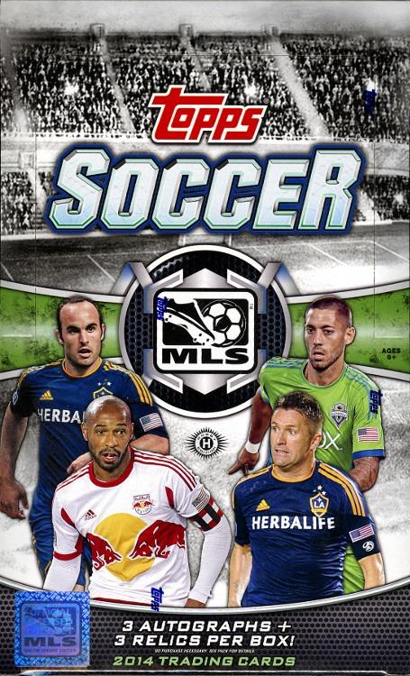 2014 Topps MLS Soccer Hobby Box (Sealed)