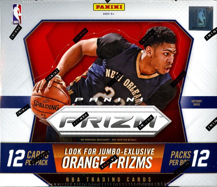 2015/16 Panini Prizm Basketball Jumbo Box (Sealed)