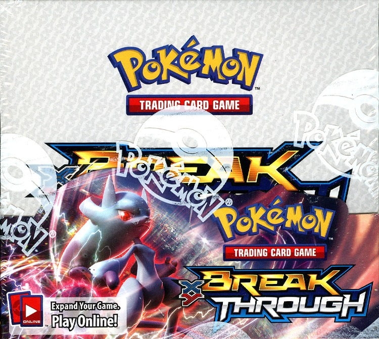 Pokemon TCG XY Break Through Sealed Booster Box (English) (Trading Card Game)