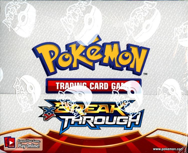 Pokemon TCG XY BreakThrough Theme 8 Deck Box 4-Night Striker/4-Burning Spark