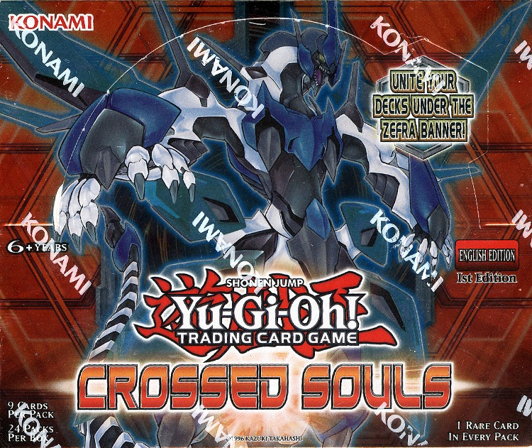 Yugioh Crossed Souls 1st Edition Booster Box (Sealed)
