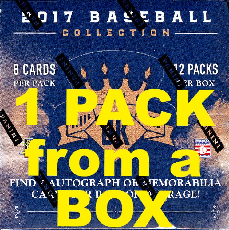 2017 Panini Donruss Diamond Kings Baseball Hobby 8 Card Pack Sealed Random