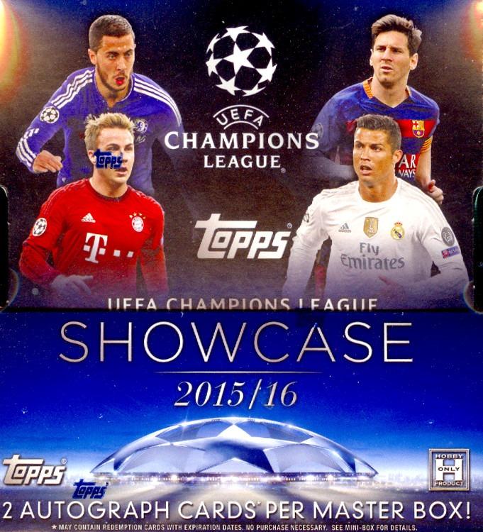 2015 2015-16 Topps UEFA Champions League Showcase Autographs Luuk de Jong Auto