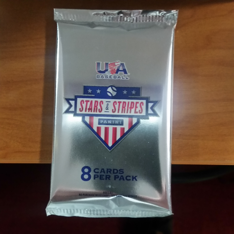 2017 Panini Usa Stars Stripes Baseball Hobby 8 Card Pack Sealedrandom