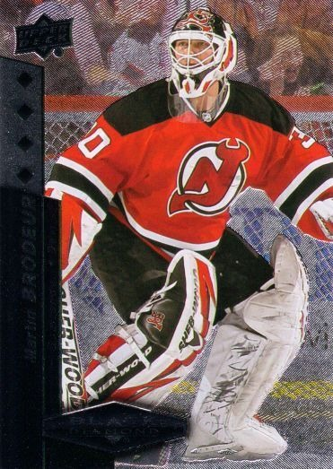 sports shoes 5134a fe684 MARTIN BRODEUR 2010-11 Black Diamond Quadruple Diamond Card New Jersey  Devils