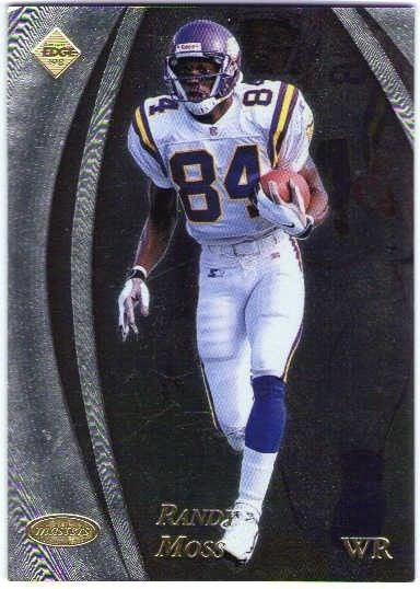 Randy Moss Collectors Edge Masters 50 Point Rookie Card 1998 Vikings Rc 95