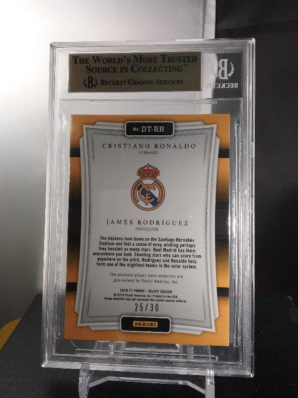 Cristiano Ronaldo James Rodriguez 2016 17 Select Double Team Tie Dye