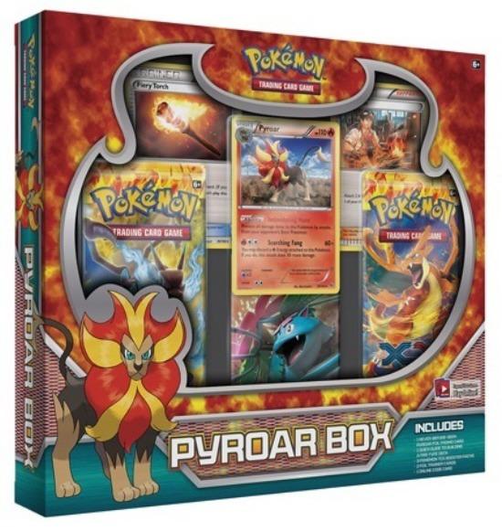 Pokemon TCG XY Pyroar Character Sealed Box (See Pic - 2 Flashfire Booster Packs)