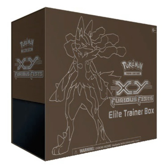 Pokemon TCG XY Furious Fists Elite Trainer Box (Sealed)