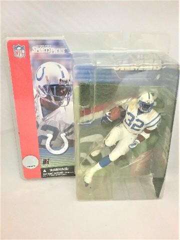 2001 Edgerrin James McFarlane Sportspicks Figure Series 1 NFL Indianapolis Colts