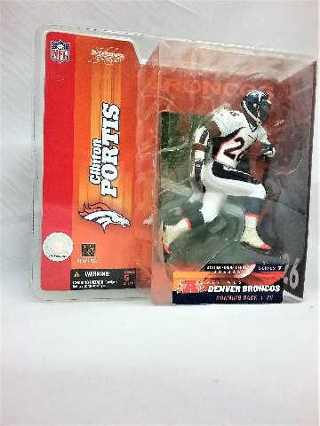 Clinton Portis NFL Variant McFarlane Action Figure Debut Denver Broncos Series 7