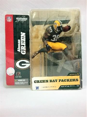 2004 Ahman Green McFarlane Sportspicks Figure Green Bay Packers NFL Series 8